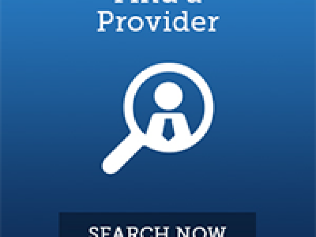 "Picture with text reading ""Find a Provider"""