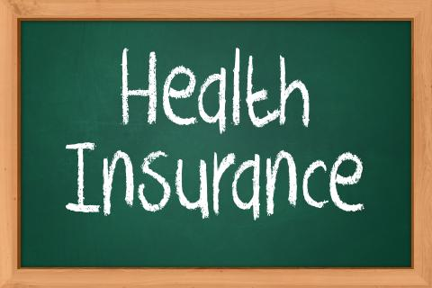 """Picture with text reading """"Health Insurance"""""""