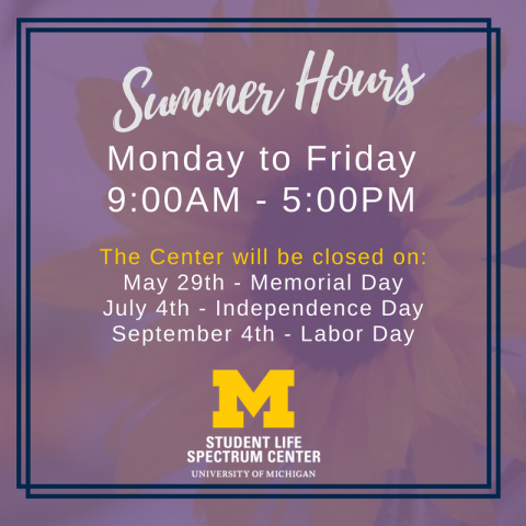 Summer Hours Photo