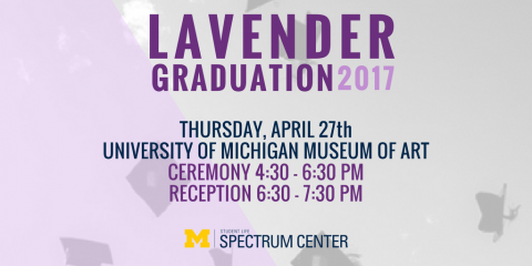 Lavender Graduation Flyer