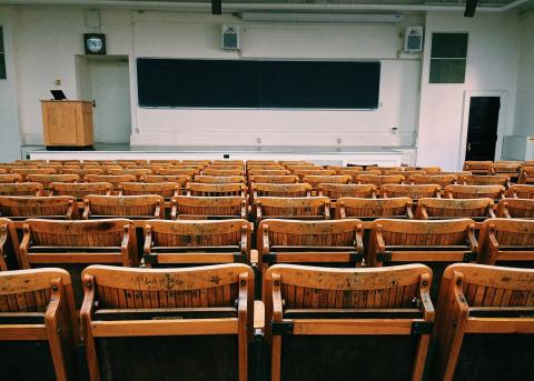 Image of the inside of a classroom