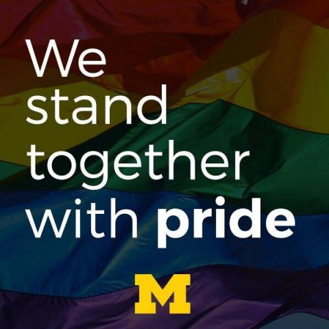 We stand with Orlando graphic