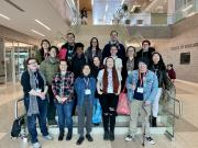 Group photo of Spectrum Center's delegation of students who attended MBLGTACC 2020